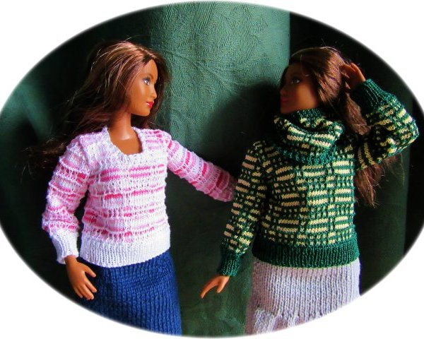 Pattern for dolls jumpers