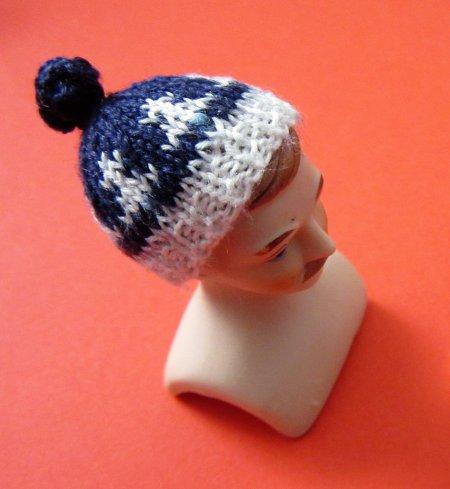 miniature bobble hat