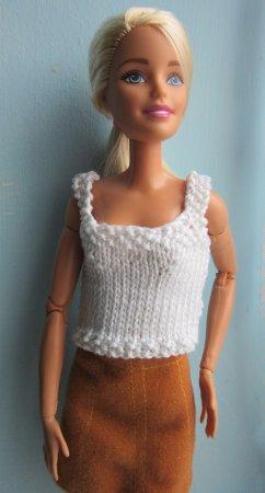 sleeveless jumper