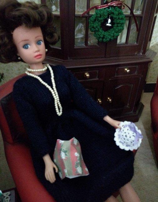 Miniature knitting and crochet