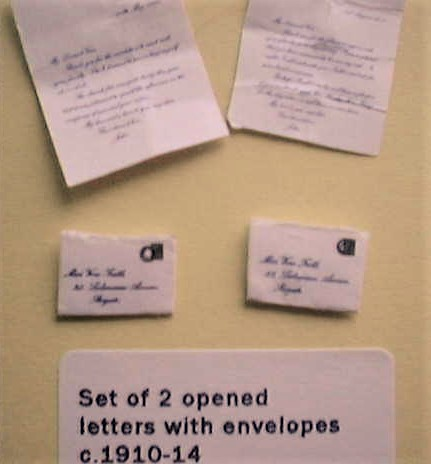 miniature letters
