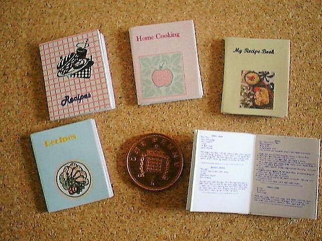 miniature cookery books