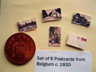 miniature postcards
