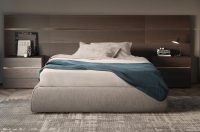 Pianca Impunto Storage Bed without Headboard | Campbell ...