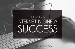 40 Rules for Internet Business Success