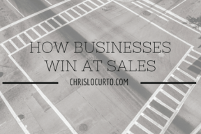 how businesses win at sales