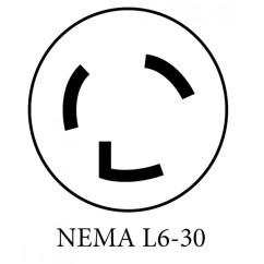 L5 30p To L14 30r Wiring Diagram 2003 Honda Civic Alarm Nema 6 Receptacle 6-20 ~ Elsavadorla