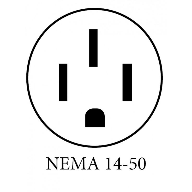 32A Level 2 Ruggedized EVSE HCS-40PR with NEMA 14-50