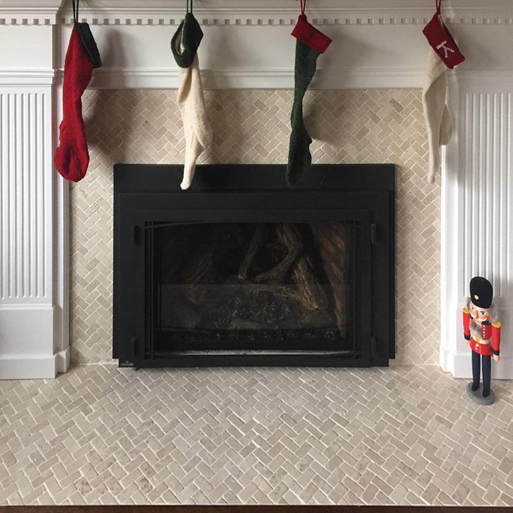 fireplaces pebble tile shop