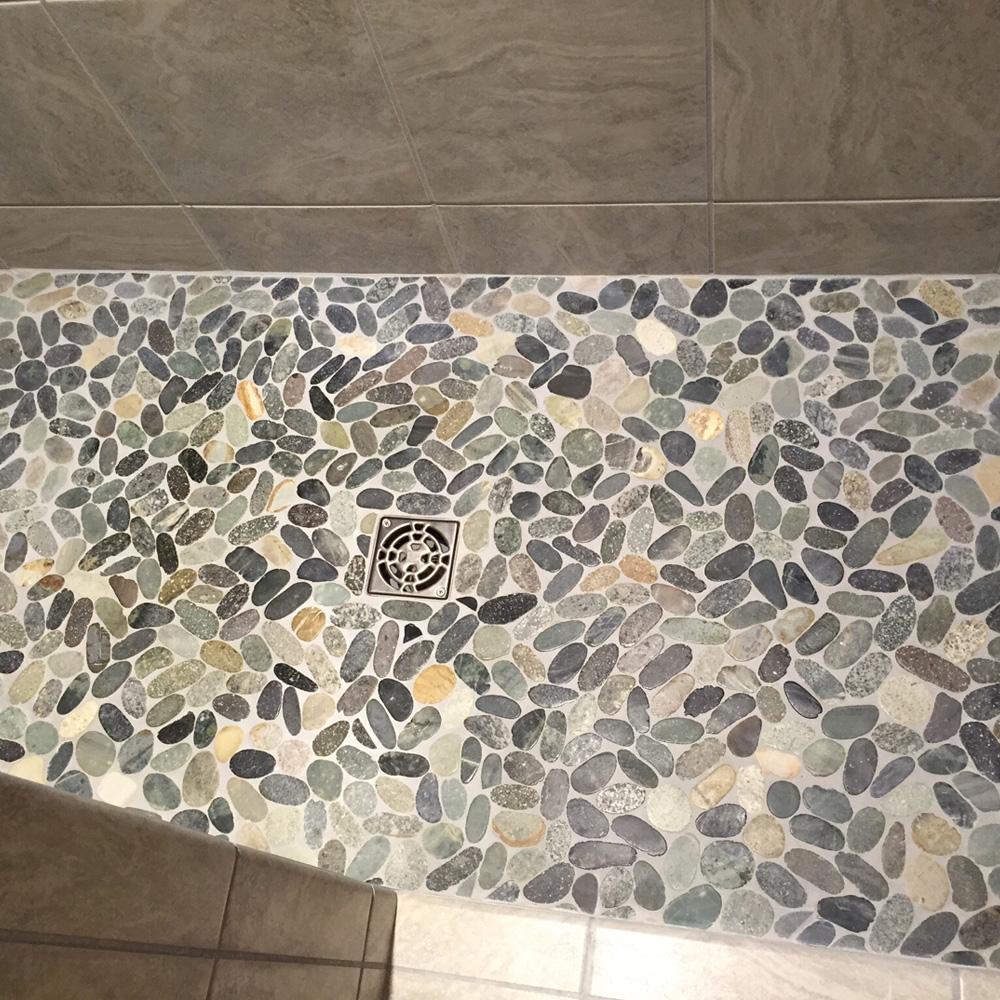 sliced bali ocean pebble tile