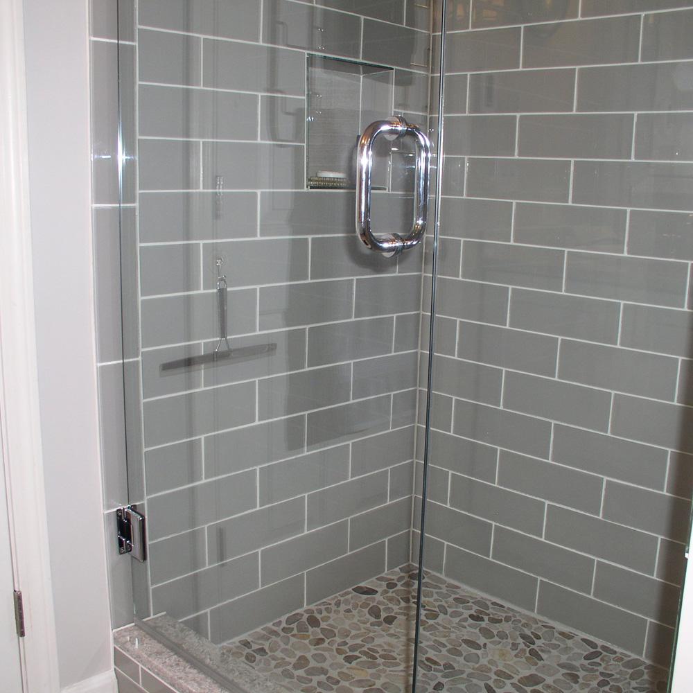 smoke glass 4 x 12 subway tile
