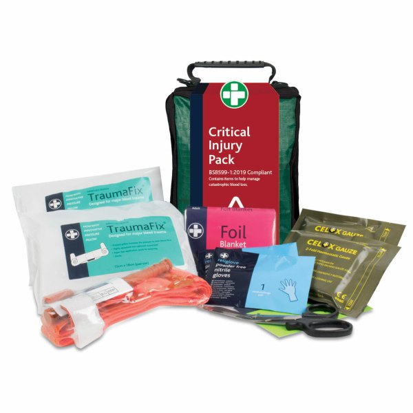 BS8599-1:2019 Critical Injury First Aid Pack