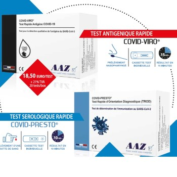 Test rapide COVID-19