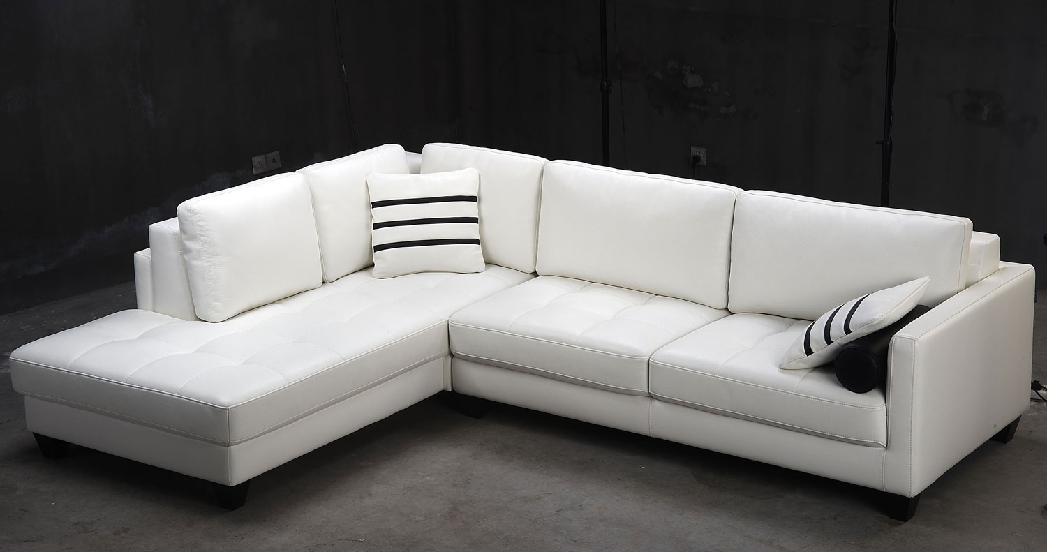 modern sofa l shape wrap around sectional contemporary white shaped leather