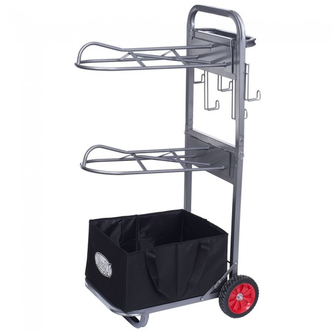 collapsible 2 tier saddle rack