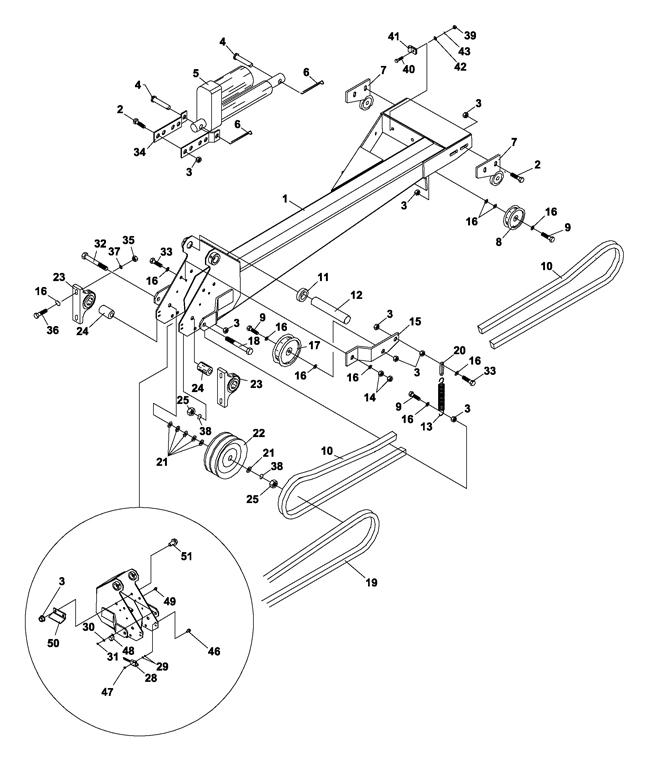 73-70880A Boom Mower, BM425 (Jacobsen) > Boom Parts