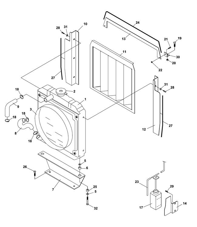 Kubota Front End Loader Hydraulics Diagram