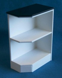 kitchen corner shelves bench seating for base end shelf right delph miniatures 1 12 scale hand made