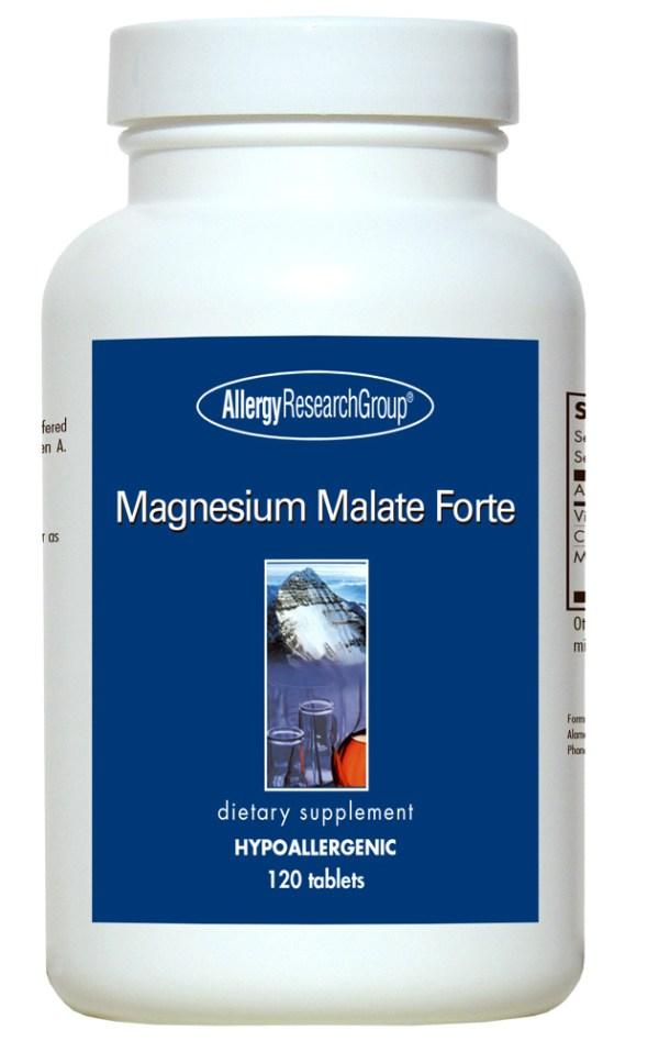Magnesium Malate Forte 120 Vegetarian Tablets