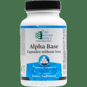 Alpha Base Without Iron