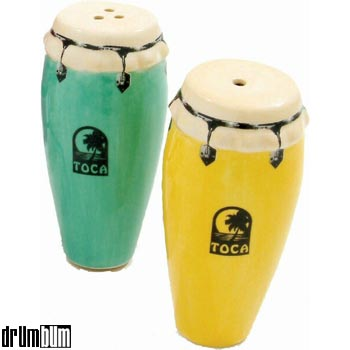 Congas - Salt and Pepper Shakers