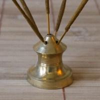 5-Stick Brass Incense Holder - DYC Store