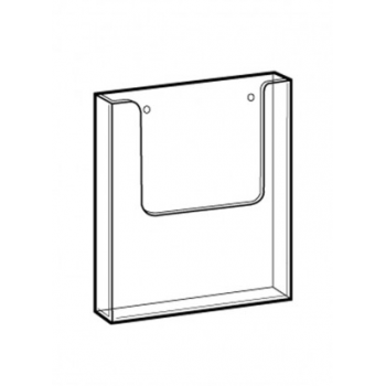 Ecoprod Wallmounted A4 cleaning record card holder