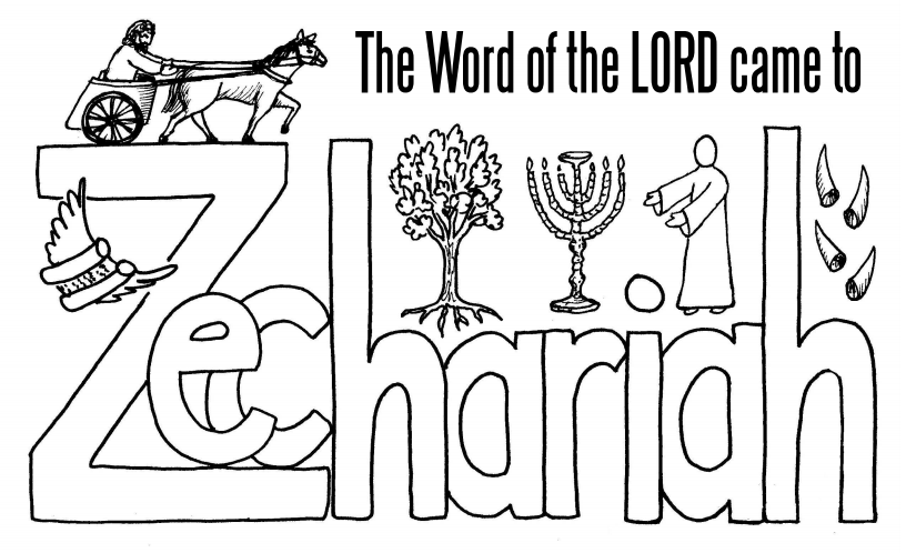The book of Zechariah: A cut-and-assemble booklet for ages