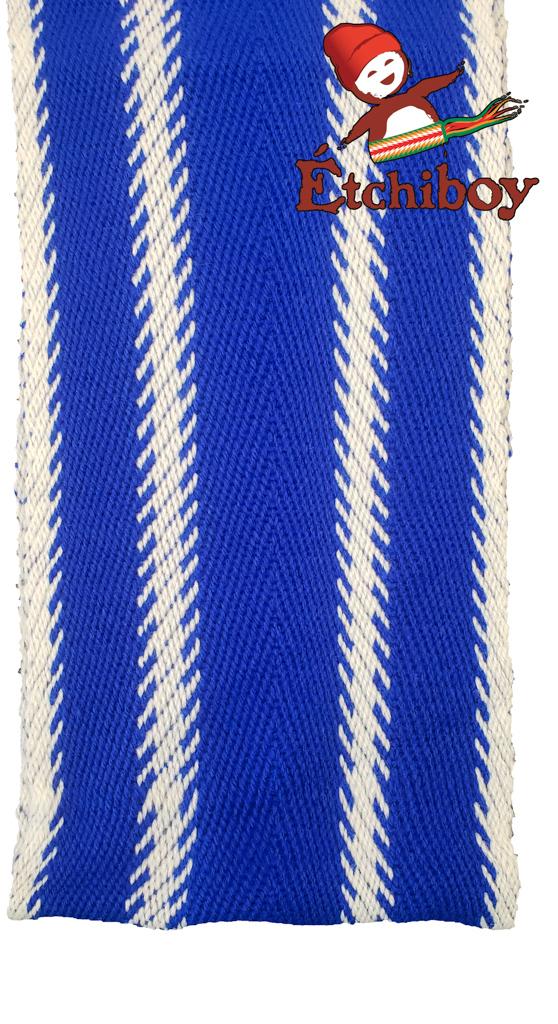 Blue Métis Flag Drapeau Métis Bleu Alpaca Medium Alpaga Moyenne 3