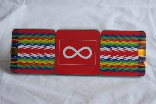 Coaster 6-pack Métis Flags and Sashes Sous-Verres Paquet de 6 Drapeaux Métis et Ceintures Fléchées 1