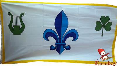 Louis Riel 1870 Provisional Government Flag Drapeau Du Gouvernement Provisoire Full Size 2