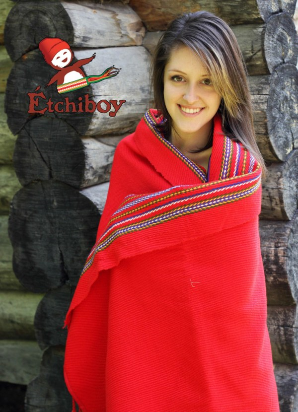 Carnaval de Québec Blanket Shawl Alpaca Couverte Châle Alpaga 1