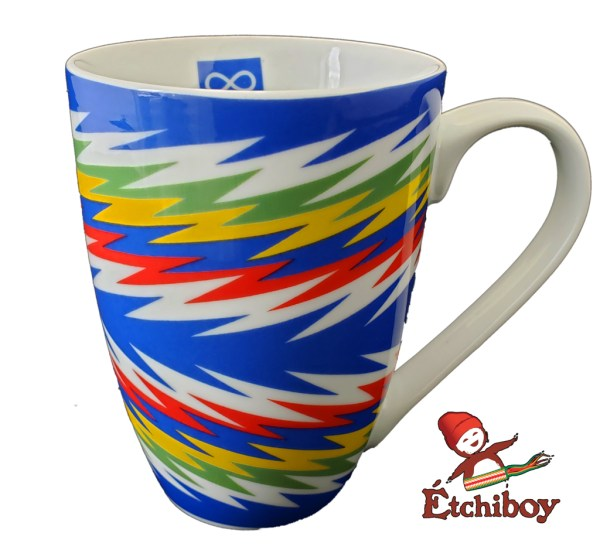 Blue Sash Mug Tasse Ceinture Fléchée Bleue 2