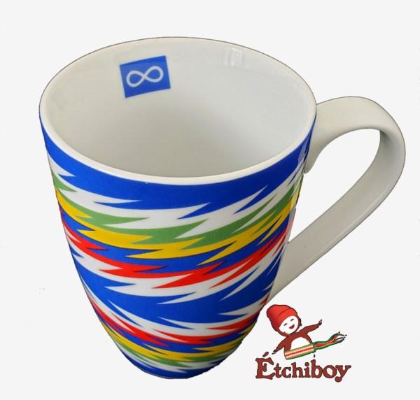 Blue Sash Mug Tasse Ceinture Fléchée Bleue 1