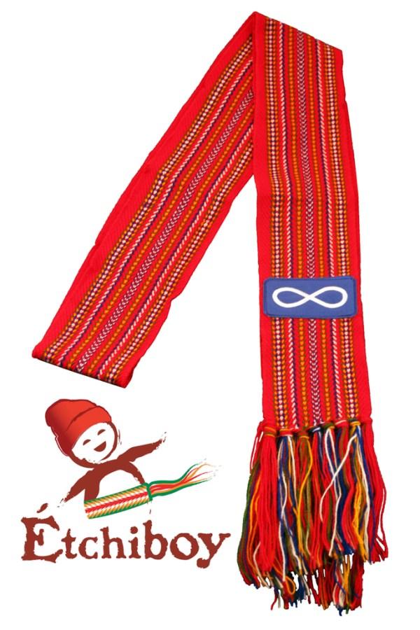 Slim Carnaval With Métis Flag Étroite Avec Drapeau Métis 1
