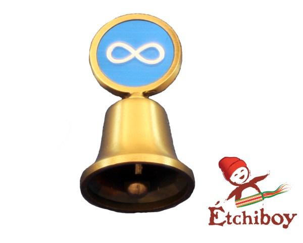 Métis Bronze Bell Cloche Bronze 1