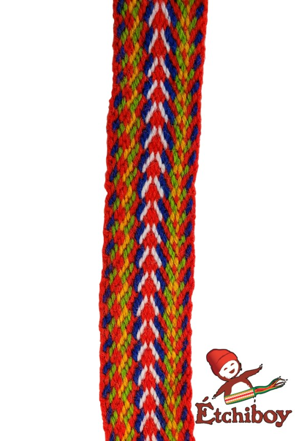 "Mini Sash 6"" Louis Riel Mini-ceinture 6po Louis Riel 5"