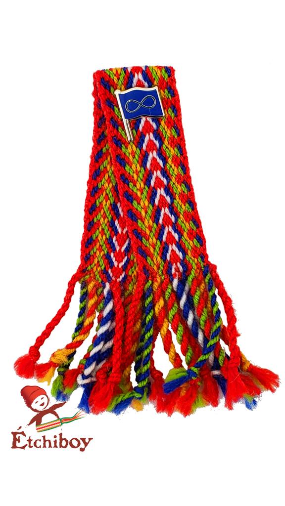 Mini sash with pin Mini-ceinture avec épinglette 2