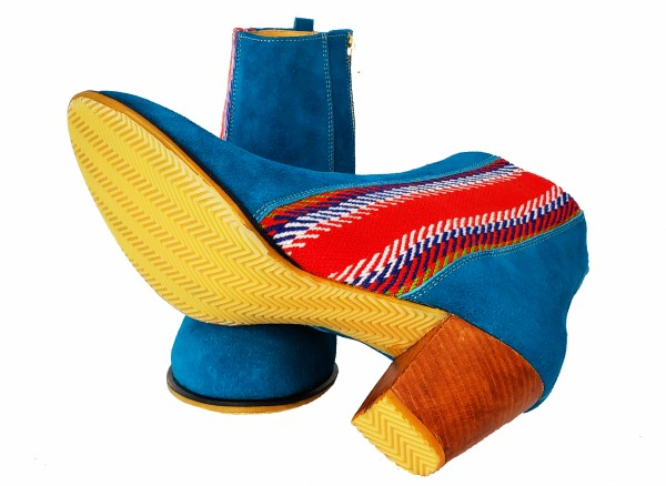 La Belle Bottine Leather Ankle Boot with Strap Cuir avec Bande 5