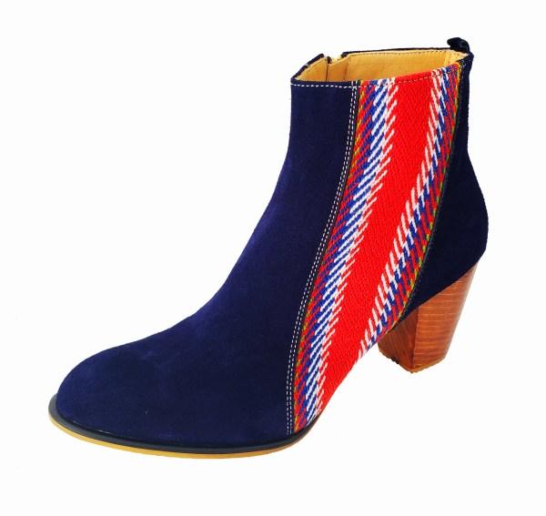 La Belle Bottine Leather Ankle Boot with Strap Cuir avec Bande 4