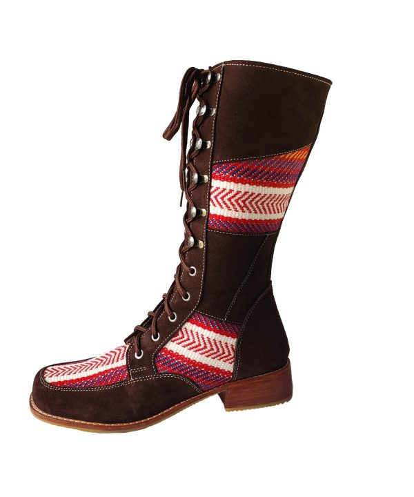 Leather boot Etchiboy botte cuir