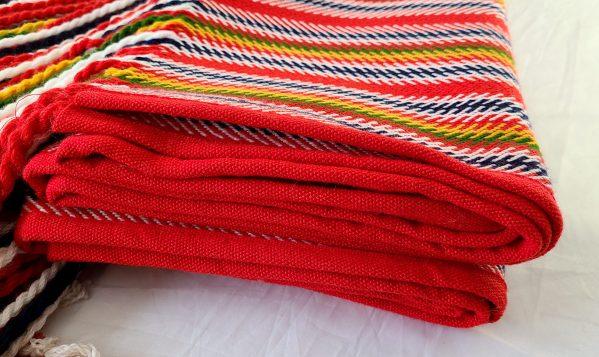 Jean-Baptiste Lagimodière Multi-sash Blanket Shawl Alpaca Couverte Châle Alpaga Multiceinture 1