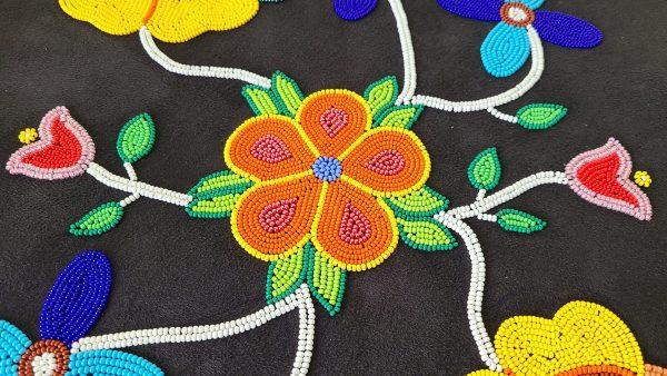 Métis beadwork perlage Étchiboy