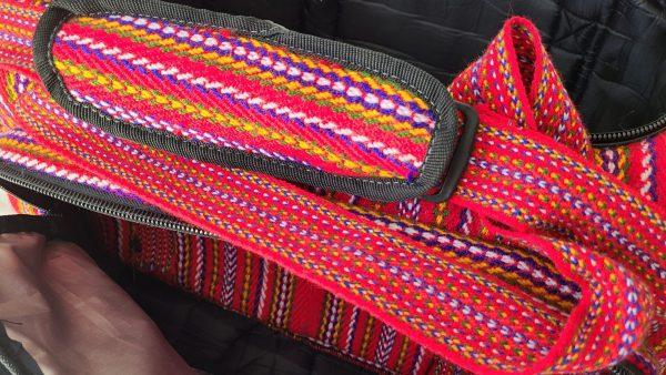 One of A Kind Gym Bag Grand Sac de Voyage Carnaval Alpaga 5