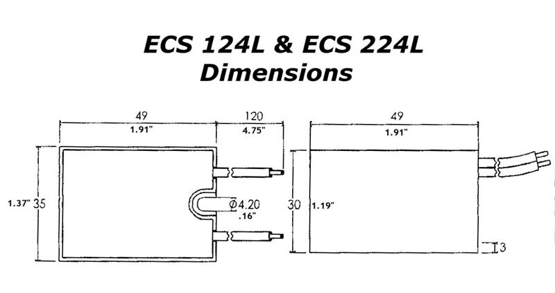 Electronic Motor Start Switch ECS224L