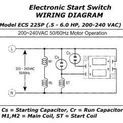 Pto Switch Wiring Diagram Recessed Light Electronic Motor Start Ecs225p