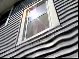 Sun reflecting of window glass melting vinyl siding?  Here is how to stop it…