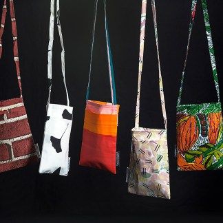 FWM Artist Yardage Passport Bags