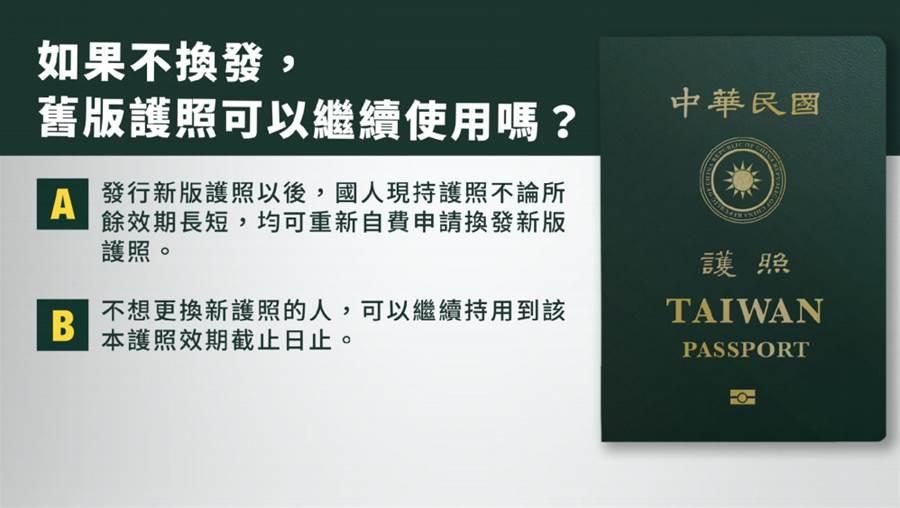 新護照「TAIWAN放大版」規費1300元 明年1月上路、沒過期也能換