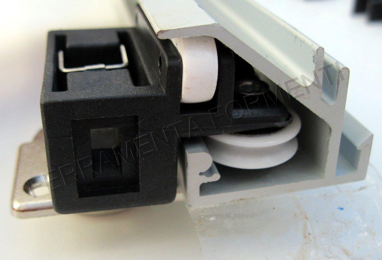binario con accessori per anta armadio pieghevole  a
